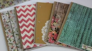 DIY: Notebooks & School Supplies | ShowMeCute