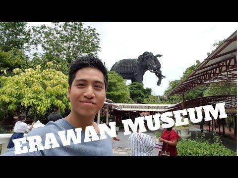 Erawan Museum in Bangkok with Law!