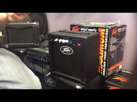 Peavey Max 126 Bass Amplifier At Rocktown Music