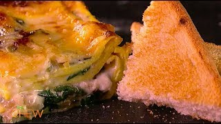 Carla Hall's Breakfast Lasagna Recipe | The Chew