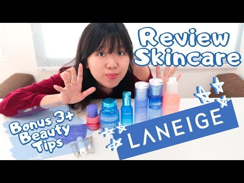 Laneige Skincare Review Korean Skincare  Bonus 3 Beauty Tips For Beginner