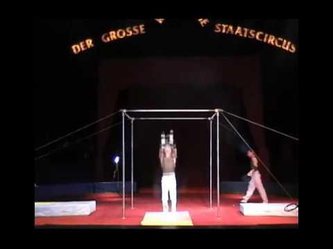 High bar act. Vitali Kozlov