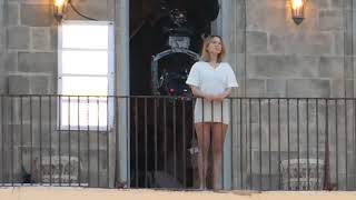 James Bond - No Time To Die: Léa Seydoux shooting a balcony scene in Matera, Italy (compilation)