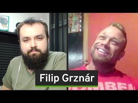 """""""Úspěšní lidé jsou agresivní. Násilí je druhý název kulturistiky"""", říká Filip Grznár"""