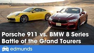 2020 Porsche 911 vs. 2019 BMW 8 Series (M850i) — Battle of the Grand Tourers