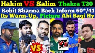 Rohit Sharma Back Inform   India Won Against Australia   Pak Lost Against SA   India VS Pak T20 WC