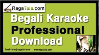 Pouser kachhakachhi rod makha - Bangla Karaoke - Manna Dey