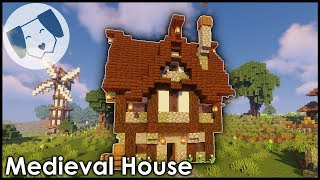 Minecraft: Medieval House Tutorial! YouTube