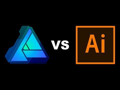 Illustrator vs Affinity Designer - Review and Comparison