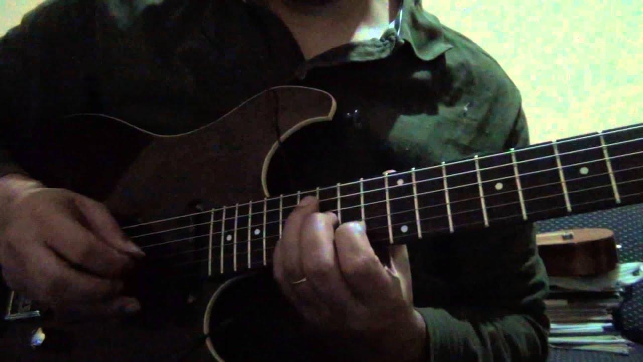 Solo guitarra - Um certo alguém