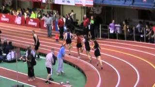 Bergen County NJ Indoor Track Championships at Armory 2014 Girls Mile