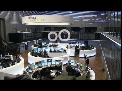 INSIDE FRANKFURT STOCK EXCHANGE DAX BORSE
