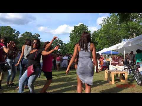 ALBION REUNION 2017. DANCING  2  Baisley Park, Queens. N. Y.
