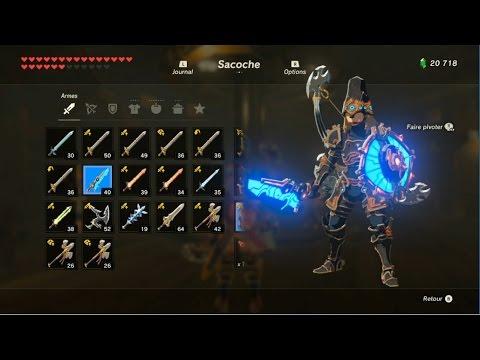 Emplacement des Armes Zora Zelda Breath of the Wild Bot