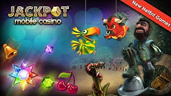 Jackpot Mobile Casino: New NetEnt Games Launched