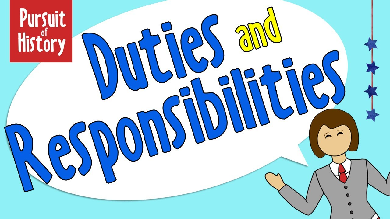 The Duties and Responsibilities of Citizens - YouTube