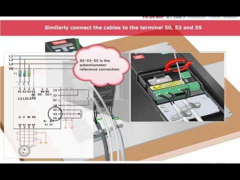 Inverter Danfoss, Lesson 06, VLT 2800 - Control and Programming