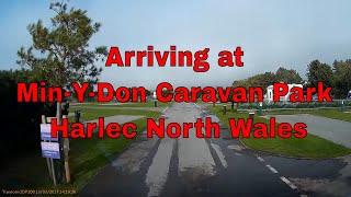 Bessie Arriving at Min-Y-Don Caravan Park Harlec