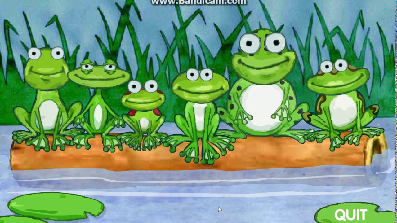 Frogs On A Log (2001 Flash Simulator