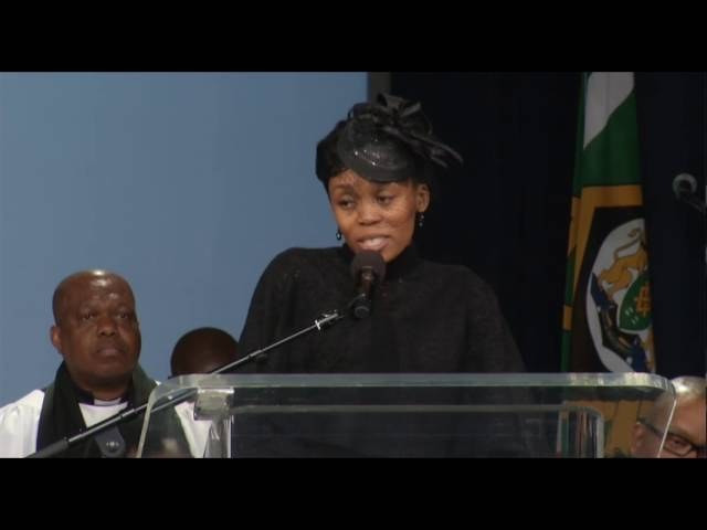 Letshego Zulu pays tribute to her husband Gugu Zulu.