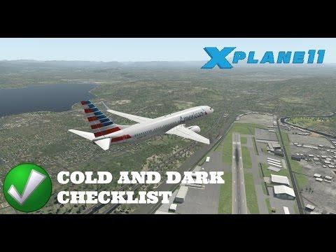 X Plane 11 EP 16 Default 737 800 Start Up Checklist YouTube