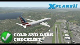 X Plane 11 EP 16: Default 737-800 Start Up Checklist
