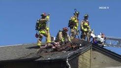 San Diego: 2nd Alarm Apartments Fire  03162019