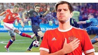 Матч Россия - Хорватия. Сборная, за которую не стыдно.