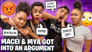 MACEI & MYA GOT INTO AN ARGUMENT OVER BAM!💔