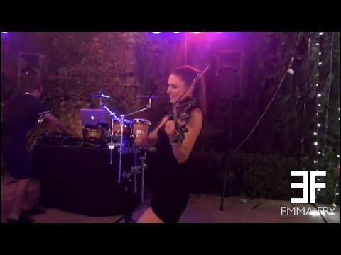 Emma Fry Violinist DJ Live