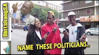 I'm A Funny SataFrikan ||Street Quiz| Name These Politicians ||Try Not To Laugh SataFrika