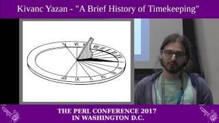 "Kivanc Yazan - ""A Brief History of Timekeeping"""