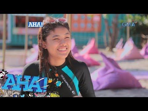 AHA!: Kate Valdez, sinubukan ang obstacle course sa Unicorn island