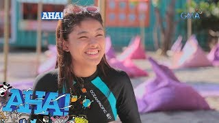 AHA!: Kate Valdez, sinubukan ang obstacle course sa Unicorn island