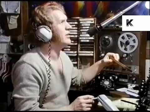 Late 1960s San Francisco Underground Radio Station