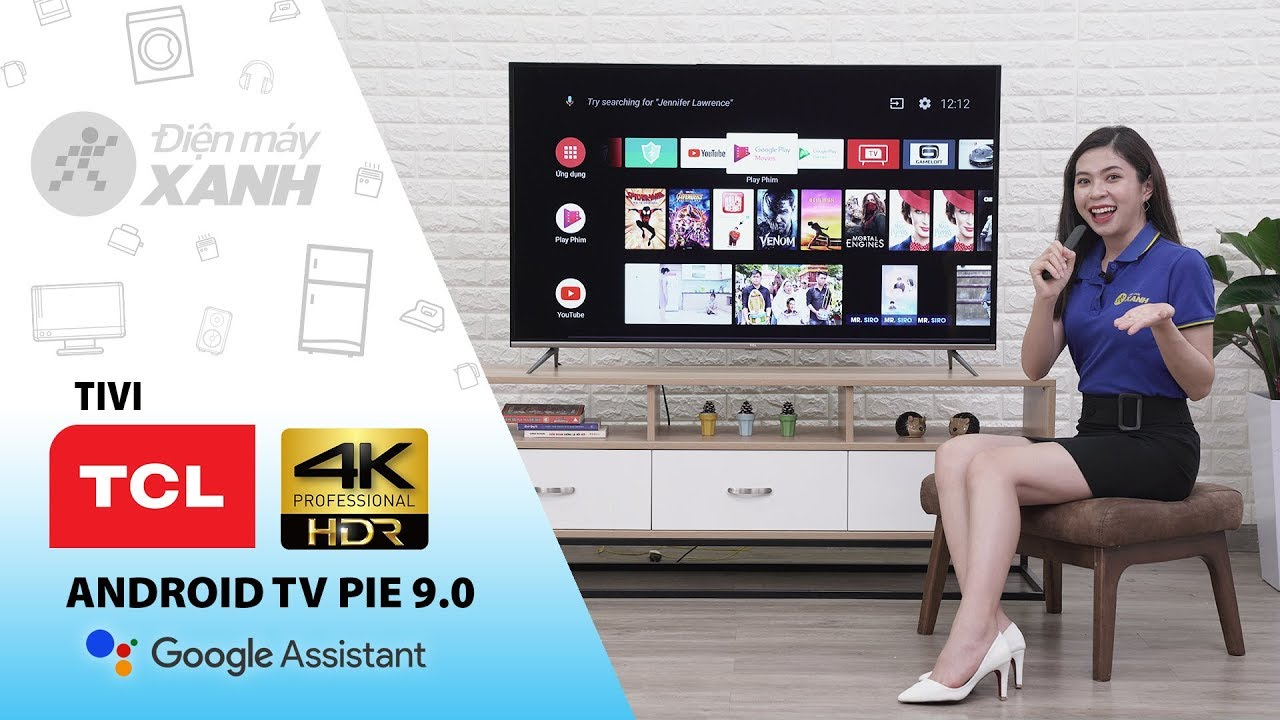 Dòng Android Tivi TCL 4K P8 (55 inch, 65 inch)