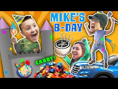 Michael's 9th Birthday! Party Animals || FUNnel Vision Birthday Vlog