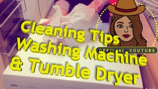 Hayley from Obsessive Compulsive Cleaners - Cleaning Washing Machine & Tumble Dryer