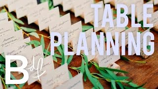 DIY Wedding: How To Create A Table Plan