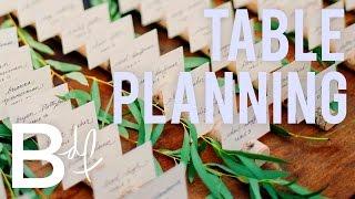 DIY Hochzeit: Wie man Eine Tabelle Erstellen, Planen