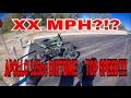 The Apollo 125cc DirtBike Top Speed!!