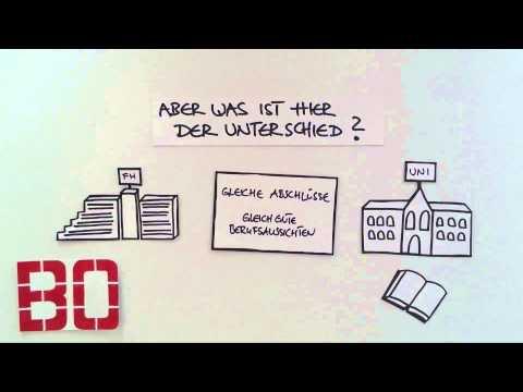 Die Hochschule Bochum erklärt - Der Unterschied zwischen FH und Uni