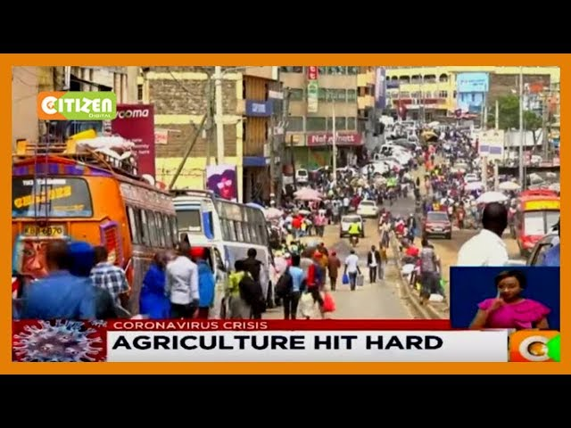 Agriculture Hit Hard: Market traders feel the pinch of the curfew