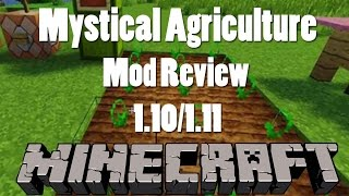 Mystical Agriculture | Modded Minecraft Mod Spotlight and Review | 1.10 & 1.11