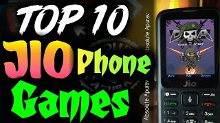 Jio Phone Games: Top 10 Best Games for jio phone(2018)   How to play New Games in jio phone