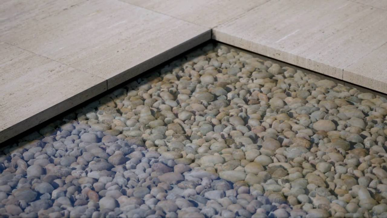 UE4Arch - Barcelona Pavilion / Materials - YouTube