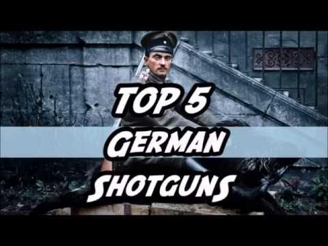 TOP 5 Rarest German Shotgun's