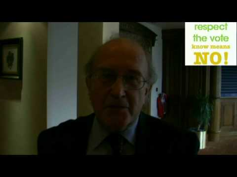 Anthony Coughlan Interview NO LISBON TREATY 2 REFERENDUM