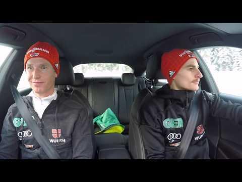 Vierschanzentournee: DSV-Adler bei Audi Driving Experience