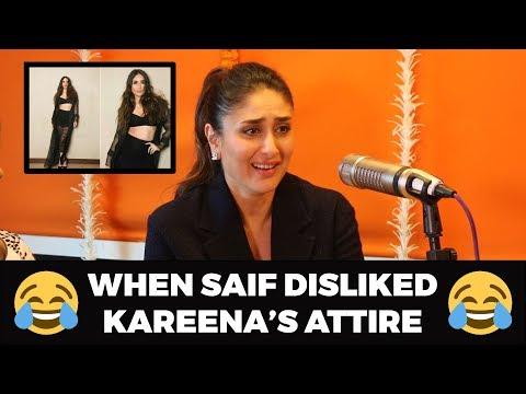 When Saif Ali Khan Disliked Kareena Kapoor's Attire | Malishka | Veere Di Wedding